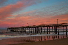 """Fishing Pier At Sunset"", Brenda Hill"