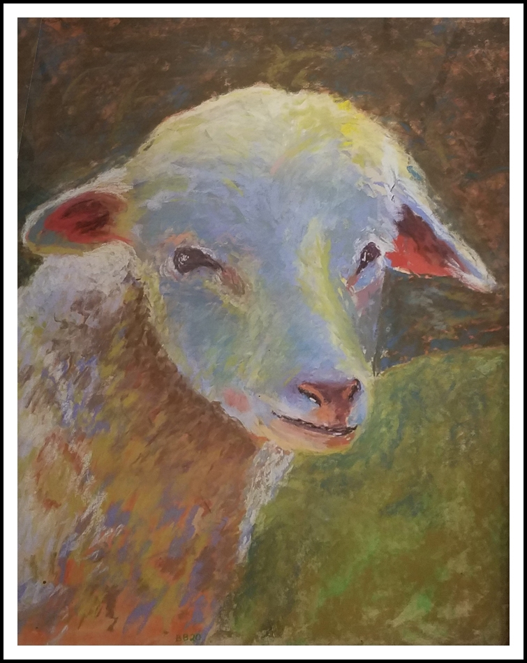 """""""Sheep of Many Colors"""" by Betsy Barker"""