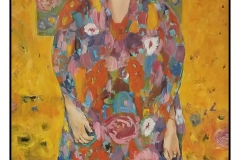 """Eugenia Primavesi"" by Beti Strobeck ~ Oil ~ Not for Sale"