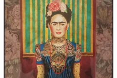 """""""Frida World"""" by Marion Fanning ~ Watercolor ~ $350"""