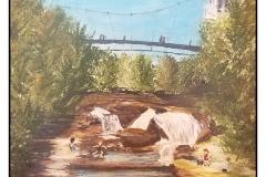 """Sunday in Falls Park"" by Joan Calhoun ~ Acrylic ~ $200"