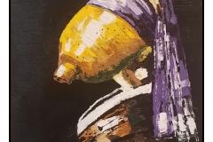 """""""Pearlemon"""" by Patsy Johnson ~ Acrylic ~ $400"""