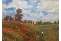 """""""Poppies"""" by Yvonne Park ~ Oil ~ Not for Sale"""