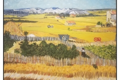 """""""The Harvest"""" by Brenda McLean ~ Oil ~ Not for Sale"""