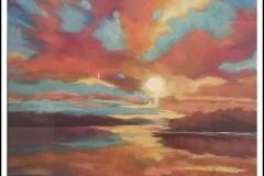 """""""Hallelujah Sky"""" by Brenda McLean ~ Pastel ~ $250"""