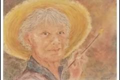 """Van Goghing Me"" by Bonnie Lamarand ~ Pastel ~ Not for Sale"