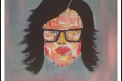 """""""My True Colors"""" by Amy Royal ~ Acrylic ~ $150"""