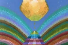 """Atmos IX"" - Acrylic by Lisa Shimko - $150"