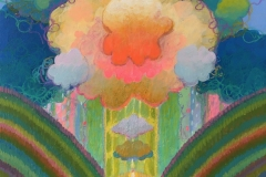 """Atmos XI"" - Acrylic by Lisa Shimko - $150"