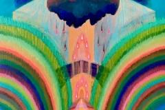 """Atmos XII"" - Acrylic by Lisa Shimko - $175"