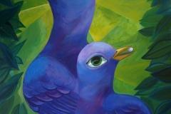 """Dream Birds"" - Acrylic by Lisa Shimko - $300"