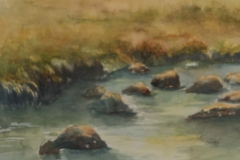 "Karen Komatz - ""River Rocks"""