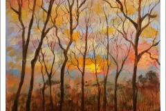 """Clemson Sunrise"" by Yvonne Park"