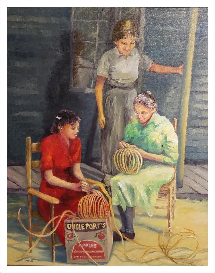 """Basket Weavers"" by Cynthia Pollett"