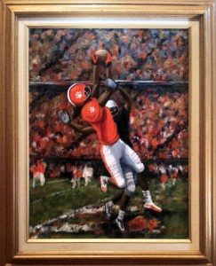 Clemson Football  OIL Susan Goodwin