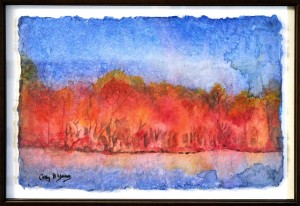 Colors of the Season WATERCOLOR ON RICE PARER Cathy Young