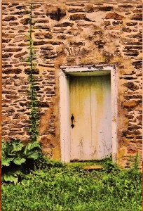 Doorway to the Old Homestead PHOTO Caroleen Frassinelli