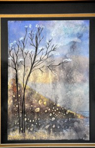 Dream Scene ACRYLIC INK CITRA Geri McSwain