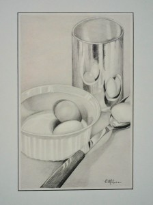 Getting Started on an Omelette GRAPHITE Brenda McLean