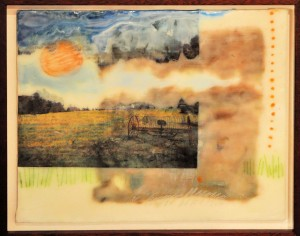 Homestead Dream MONICA LEANING Encaustic