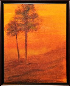 Red Sky at Morning OIL Glenn Abbott