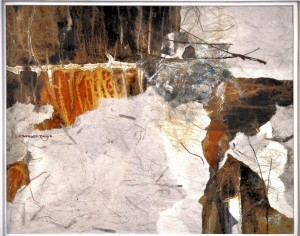 Splendor Geologic MIXED MEDIA F Berger Doyle
