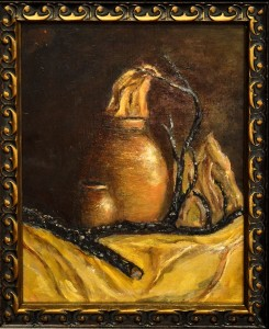 Stilllife the Old Way OIL Mike Brown