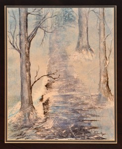 Winter Mist MIXED MEDIA Helen Popa