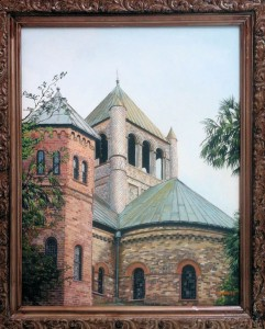 james sarver Circular congregational church acrylic