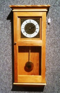 Ed Tucker Wall Clock wood