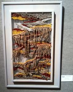 Glenn Abbott Fantasy Landscape fiber mixed