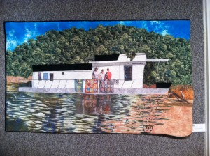 Penny Little House Boat Hotties fiber