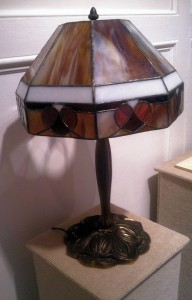 Sandy Nelson Table Lamp  glass