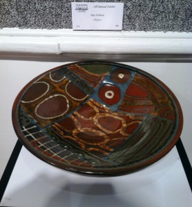 Stan DuBose Platter clay