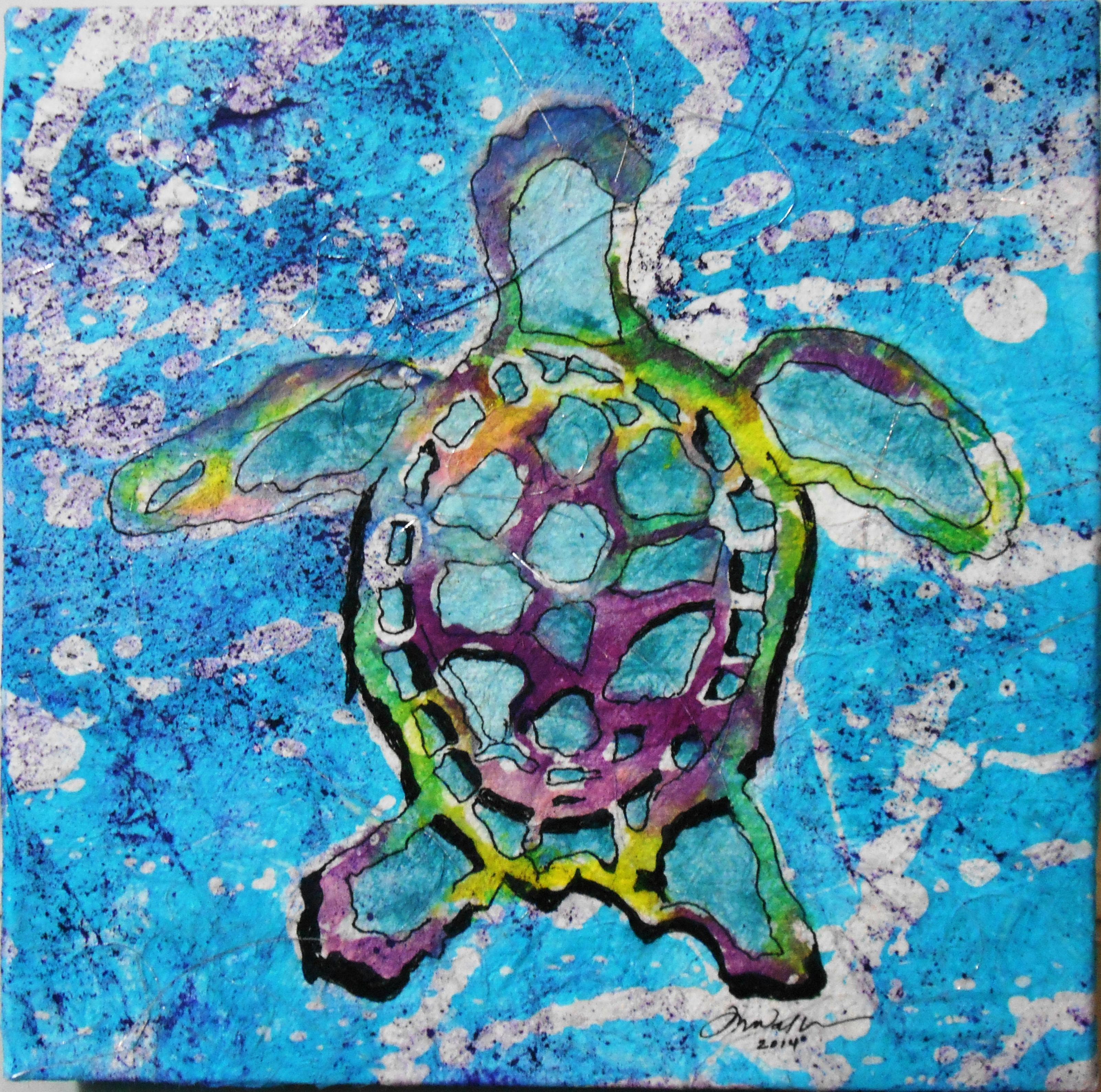 Watercolor Batik