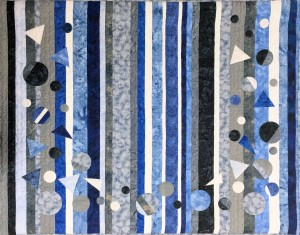Beatriz Ruinen Blue Stripes in Symphony