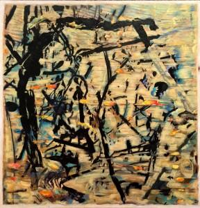 Hamed Mahmoodi Low Tech #1 Acrylic  $5000