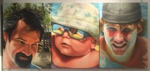 Melody Davis Heartache Series Acrylic  NFS First Place