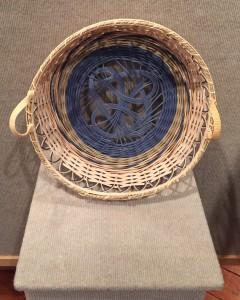 Julie Lamp Woven One Basketry  $150