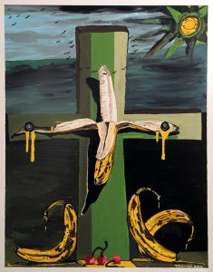 Patsy Johnson The Crucifixion Acrylic  $300