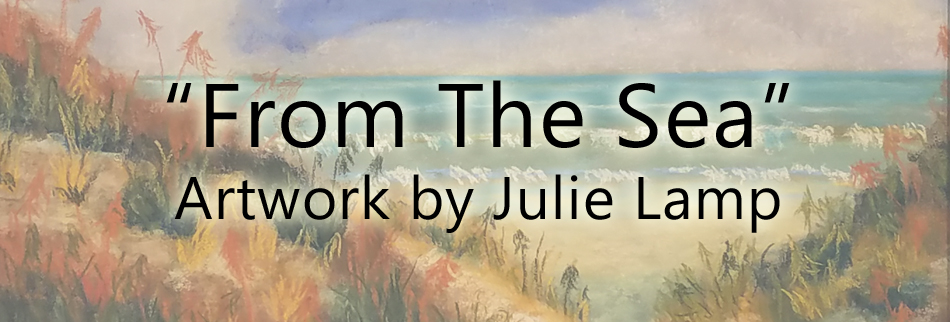 From The Sea - Artwork by Julie Lamp