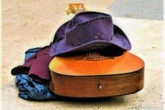 """Cowboy Hat and Guitar"", Robert Johnson"