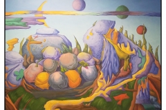 """Paul's Rocks"" by Den Latham ~ Acrylic ~ $350"