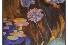 """My Monet"" by Veta Finch ~ Acrylic ~ $150"