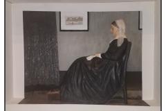 """Whistler's (Whittler's) Mother"" by Dan Holman ~ Mixed Media ~ Not for Sale"