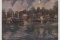 """""""Mirror Lake"""" by Brenda McLean ~ Pastel ~ $200"""