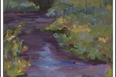 """""""Reflections"""" by Martha Driscoll ~ Acrylic ~ $120"""
