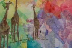 "Flo Doyle - ""Three Giraffes"""