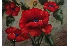 """Moody Poppy"" by Laura Havran"