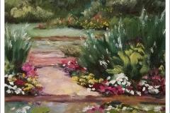 """Sunshine in the Garden"" by Martha Driscoll"